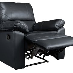 Electric Recliner Chairs Argos Cheap Bar Results For Home Toby Faux Leather Manual Chair Black