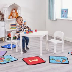 Childrens Table And Chairs Posture Chair Brace Kid S Tables Children Liberty House White Kids 2