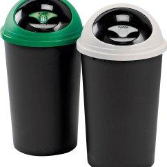 Kitchen Recycle Bin Trash Recycling Bins Argos Tontarelli 25 Litre Twin Set