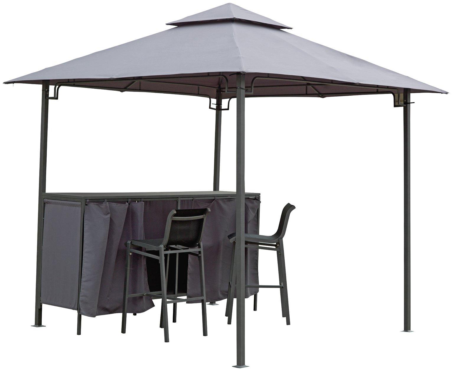portable chairs argos brown club chair garden table sets dining patio home bar gazebo set