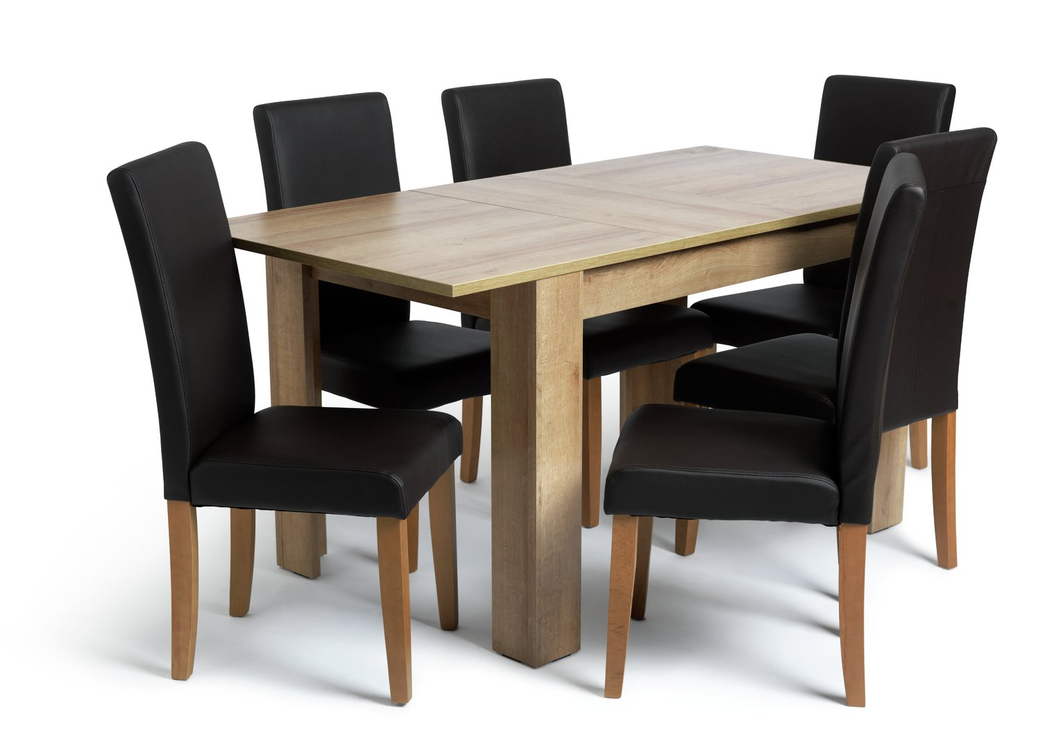 table and 6 chairs barcelona chair dimensions results for dining