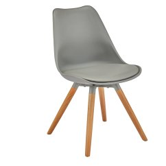 Grey Dining Chairs Pibbs Pedicure Chair Upholstered Wooden Argos Home New Charlie