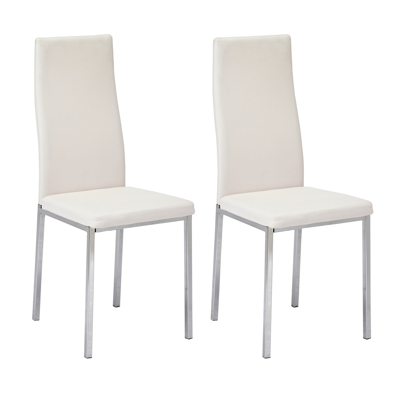 chair covers dunelm mill bloom fresco high dining chairs upholstered wooden argos home tia pair of chrome white