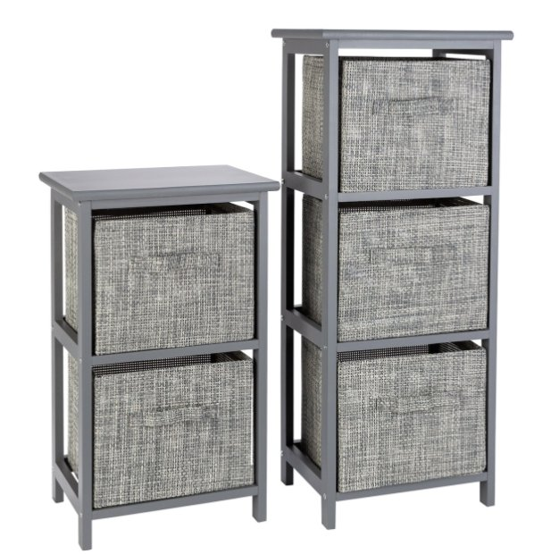 Buy Argos Home 2 And 3 Drawer Bathroom Units Grey Freestanding Bathroom Cabinets Argos