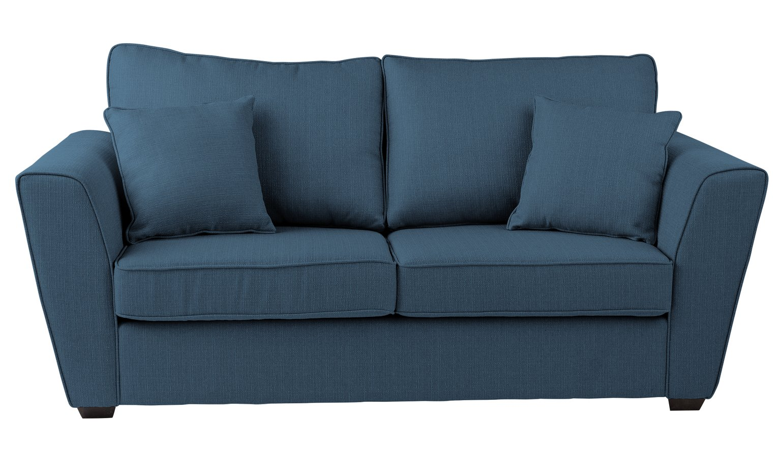futon and chair set steel in chennai sofa beds futons bed settees argos home renley 2 seater fabric blue