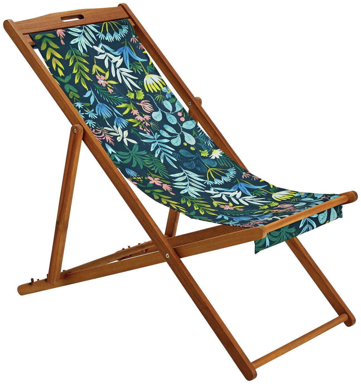 beach chairs uk argos outdoor bistro chair pads garden sun loungers home deck rainforest