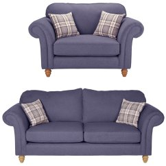 One And Half Seater Sofa Baby Bed Singapore Sets Suites Packages Argos Home Windsor Chair 3 Lilac