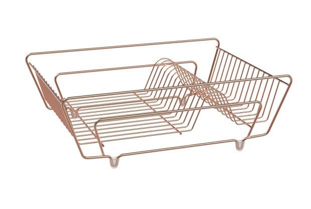 buy argos home dish drainer rose gold dish racks argos