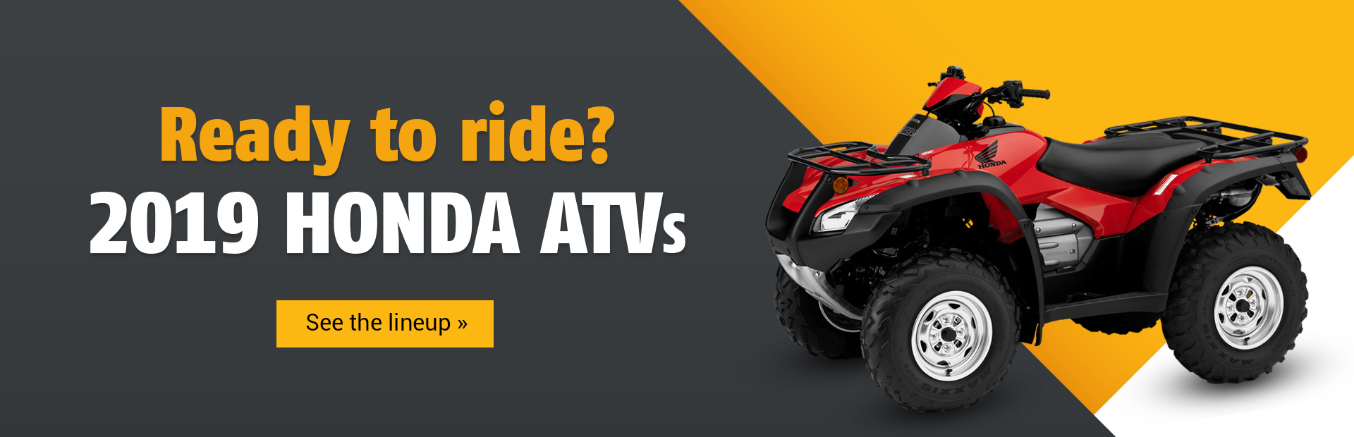 hight resolution of 2019 yamaha niken 2019 honda atvs click here to view the models