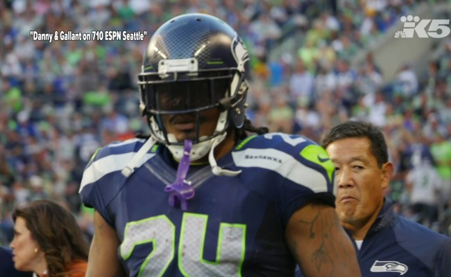 It S A Great Feeling To Be Back Marshawn Lynch Is Back