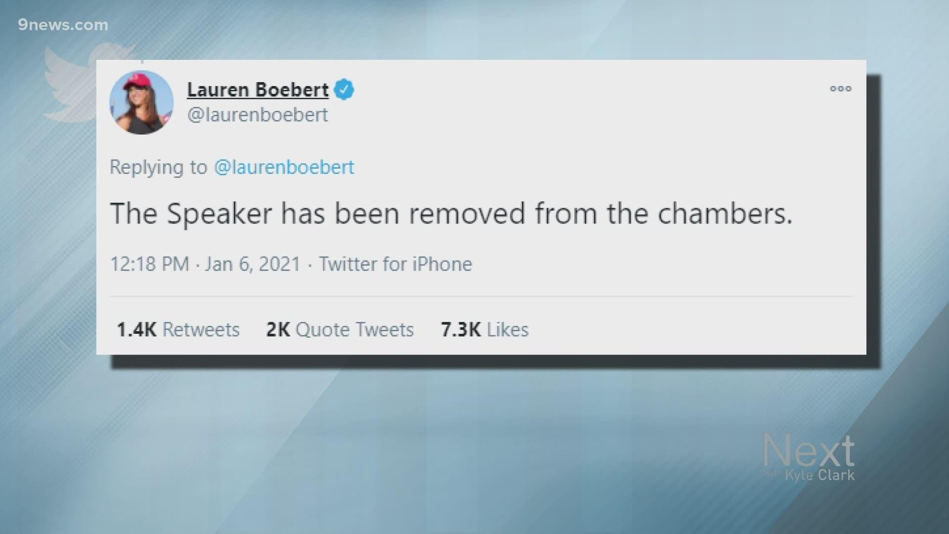 Facing calls to resign, Boebert shifts blame to Democrats, Hollywood    9news.com