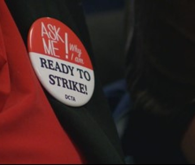 Local Denver Teachers Vote To Strike Substitutes Expected To Take Over In The Classroom
