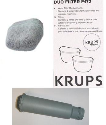 filtre anti chlore claris expresso combi krups xp2240 xp2280