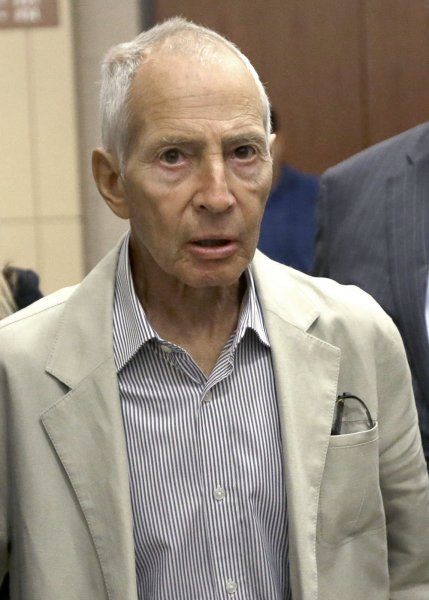 robert durst Los Angeles prosecutors charge Robert Durst with first
