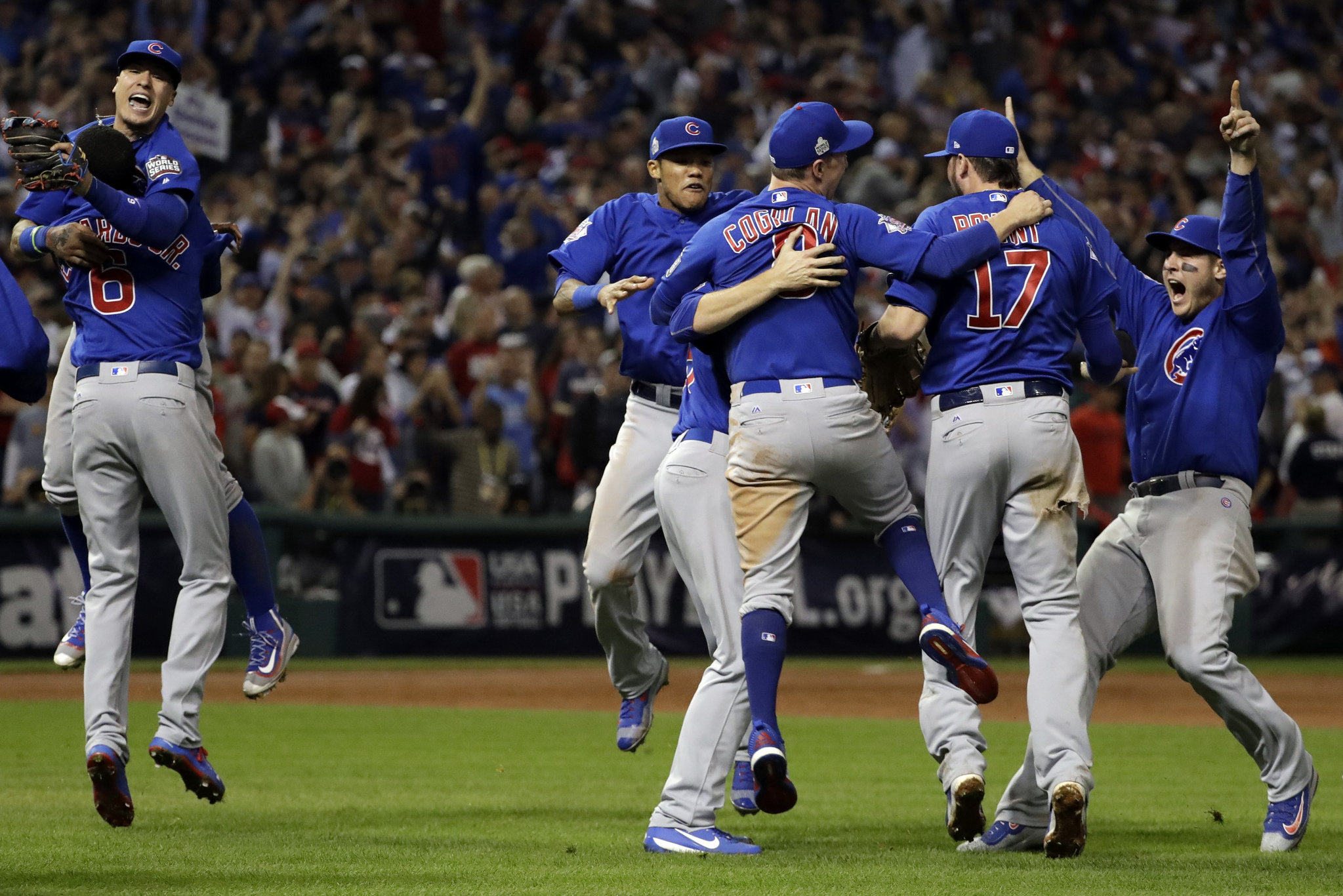 Cubs win 1st World Series since 1908 holding off Indians