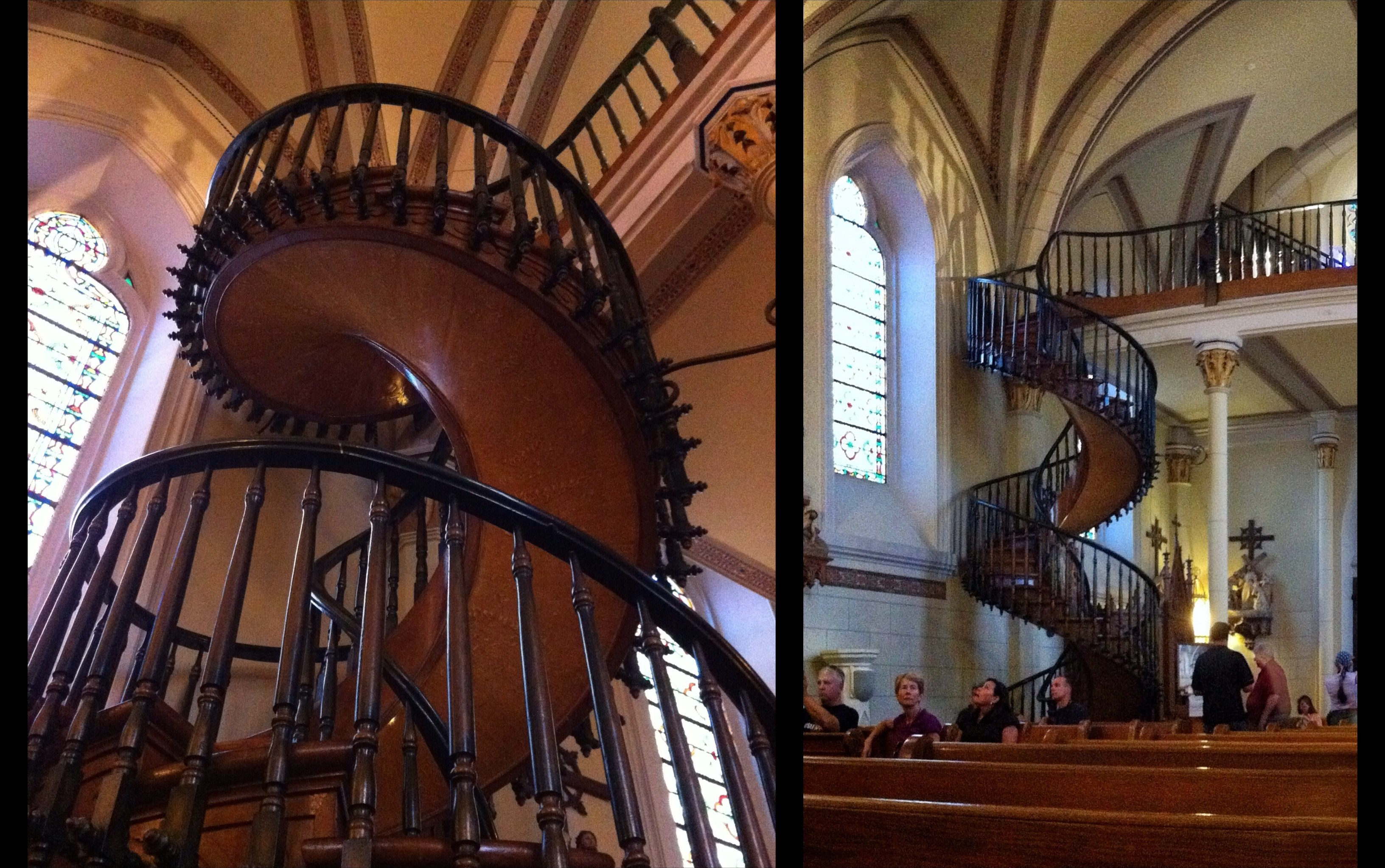 Loretto Chapel Santa Fe United States New Mexico Afar | Stairway Of Loretto Chapel | Story | Mysterious | Jesus | Wood | Miraculous Staircase