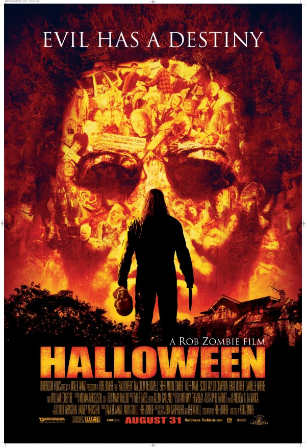 Rob Zombie39s HALLOWEEN remake gets a new poster!!