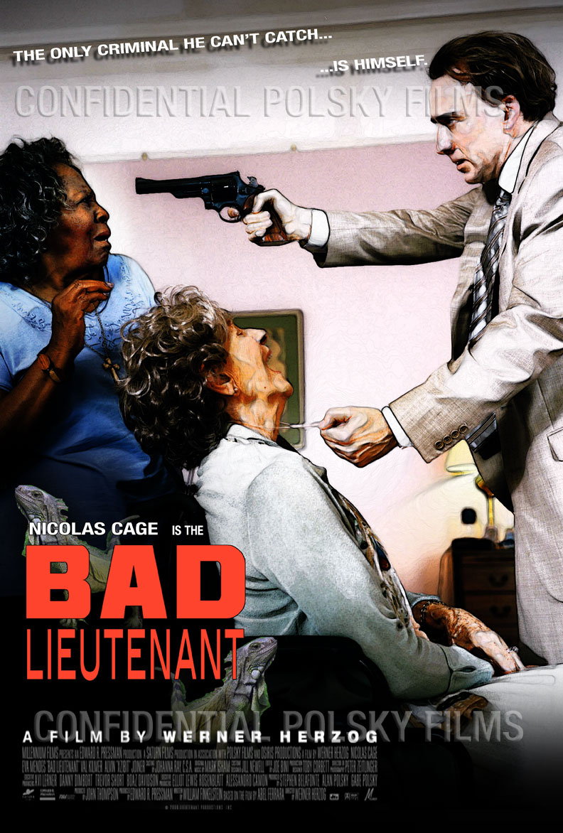Exclusive Check Out This Awesome Rejected BAD LIEUTENANT PORT OF CALL NEW ORLEANS Poster