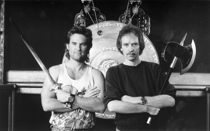 Quint talks with John Carpenter about Snake Plissken and