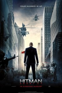 Poster for 2015 action thriller Hitman: Agent 47