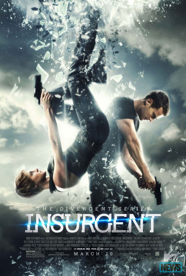 A New And Cool Poster For THE DIVERGENT SERIES INSURGENT