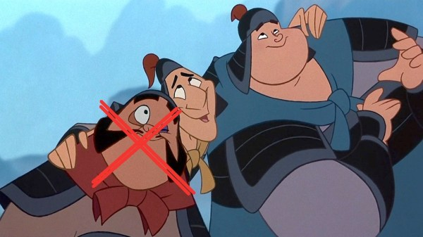 Ling and Chien Po Added to MULAN But No YaoYet