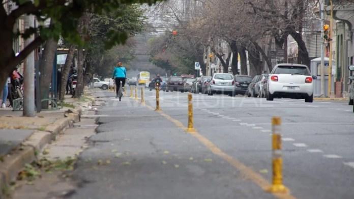 Los comerciantes de Urquiza continúan teniendo problemas por la instalación de la ciclovía.