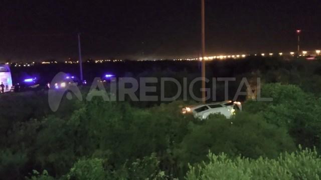 El accidente ocurrió alrededor de las 19:30 de este sábado en el ingreso a Santa Fe por autopista.