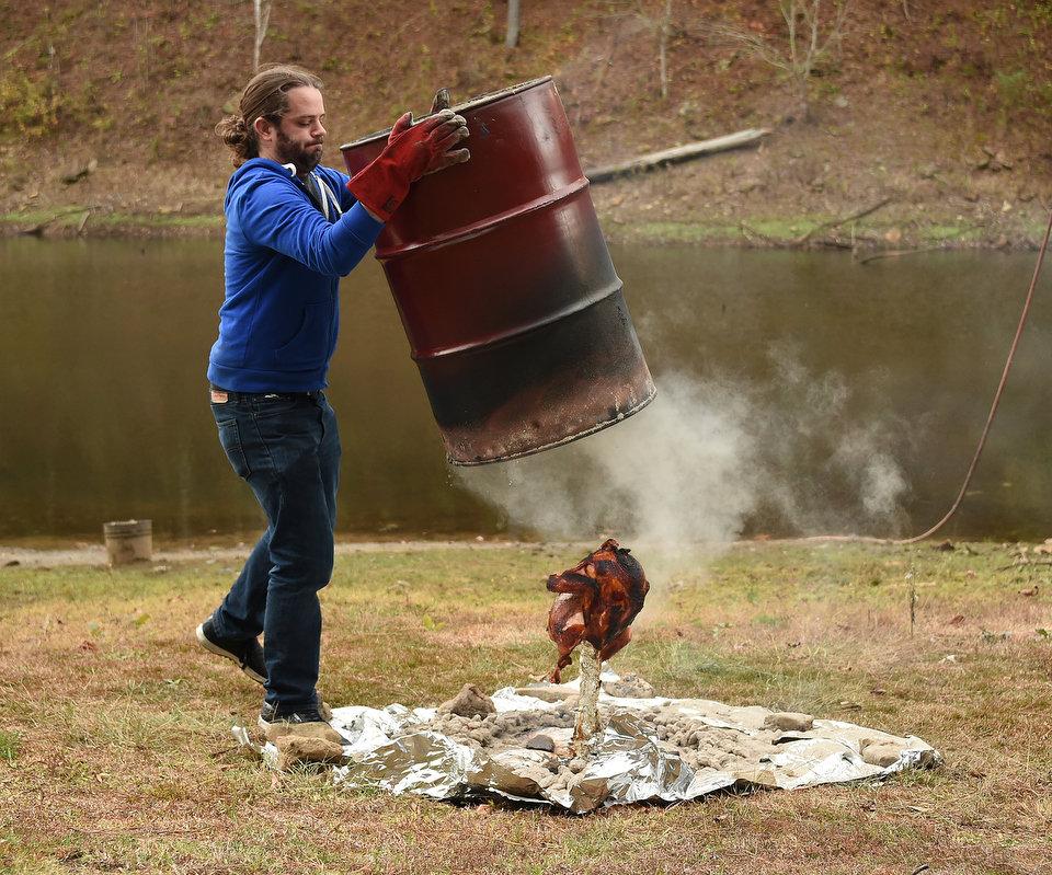 trash can turkey how