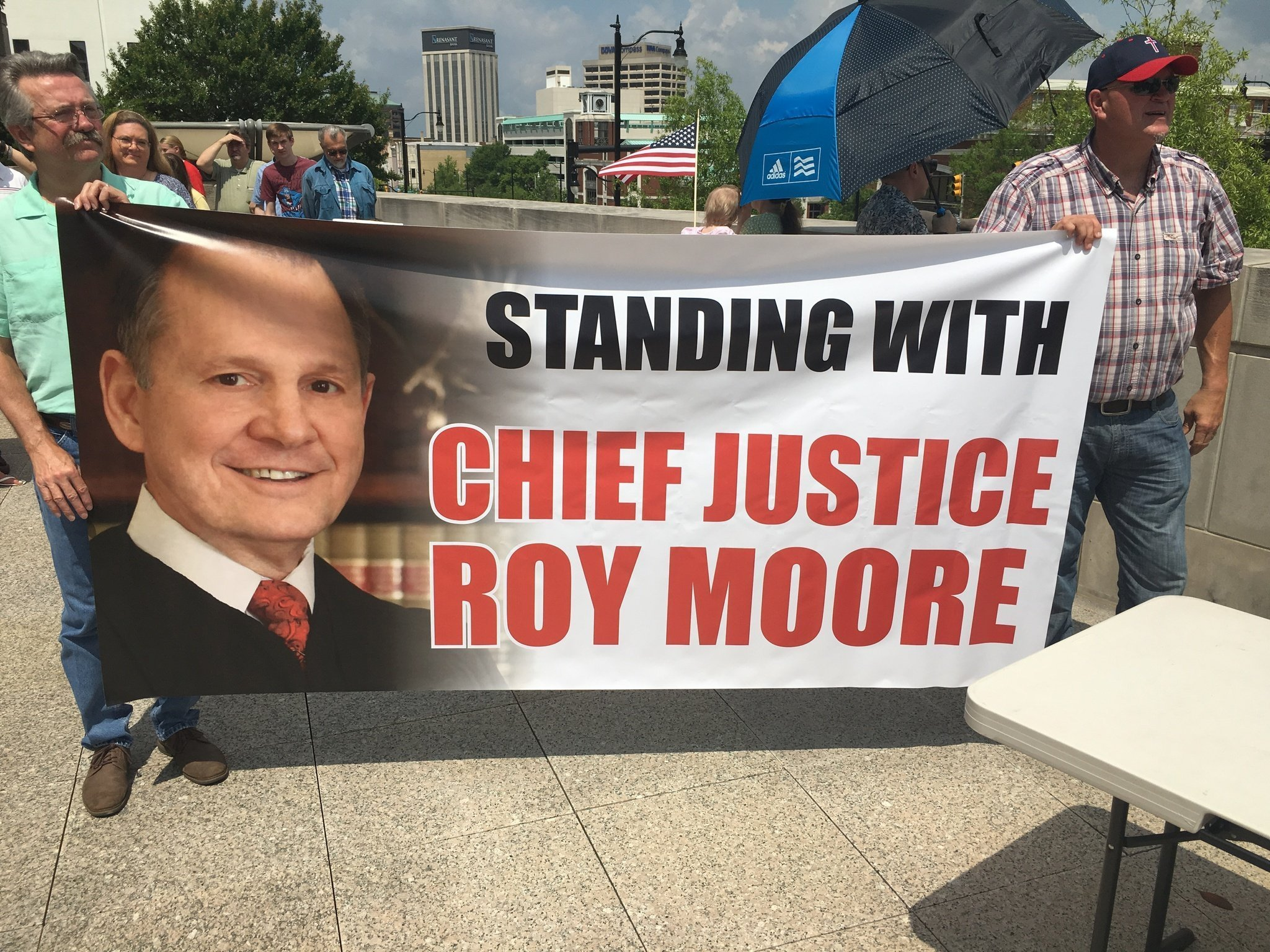 Image result for photos of roy moore on the bench