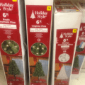 Dollar general 6 ft white tree 20 or 6 ft prelit tree for 30 use