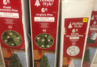 Family Dollar Christmas Trees
