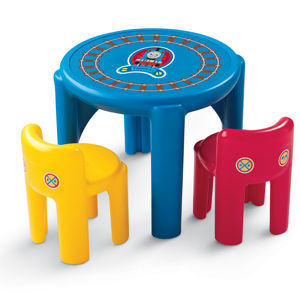 thomas the train table and chairs cushioned office chair 33 94 shipped ends soon al com little tikes thursday special is a friends set
