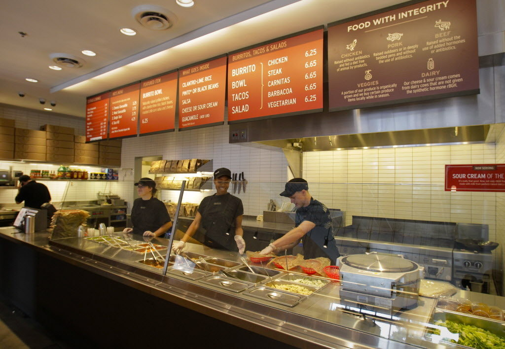 Chipotle Mexican Grill To Open Strip Location Tuesday