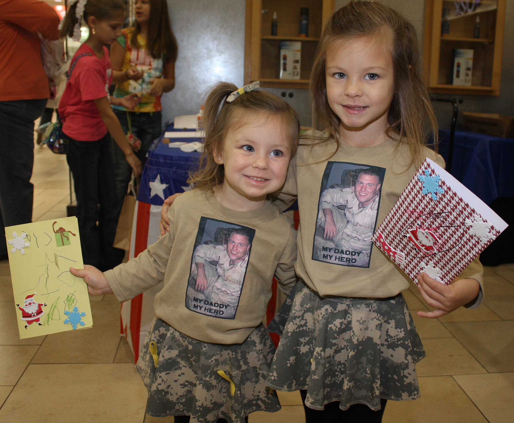 Kids Thank Veterans And Active Duty Troops In A Special