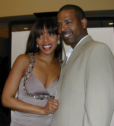 Image result for wendy raquel robinson wedding