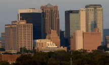 Downtown Birmingham Alabama Skyline