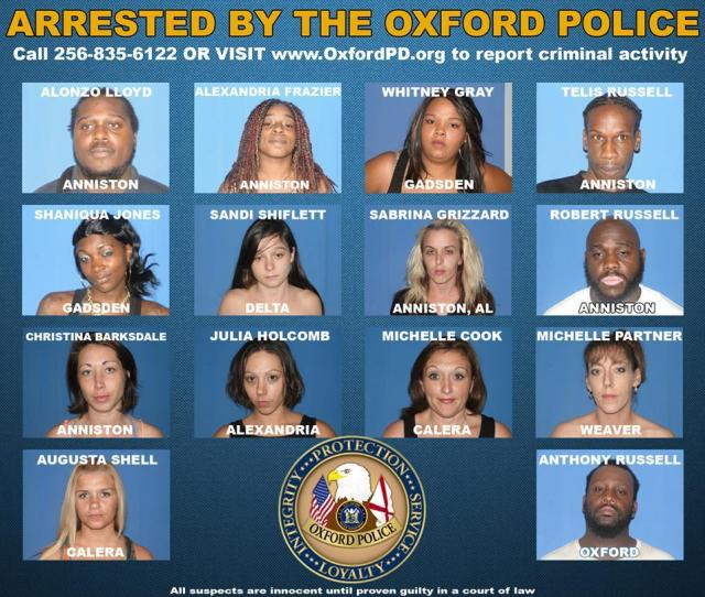 Oxford Police Nab 14 In Prostitution Sting Operation Clean Sweep