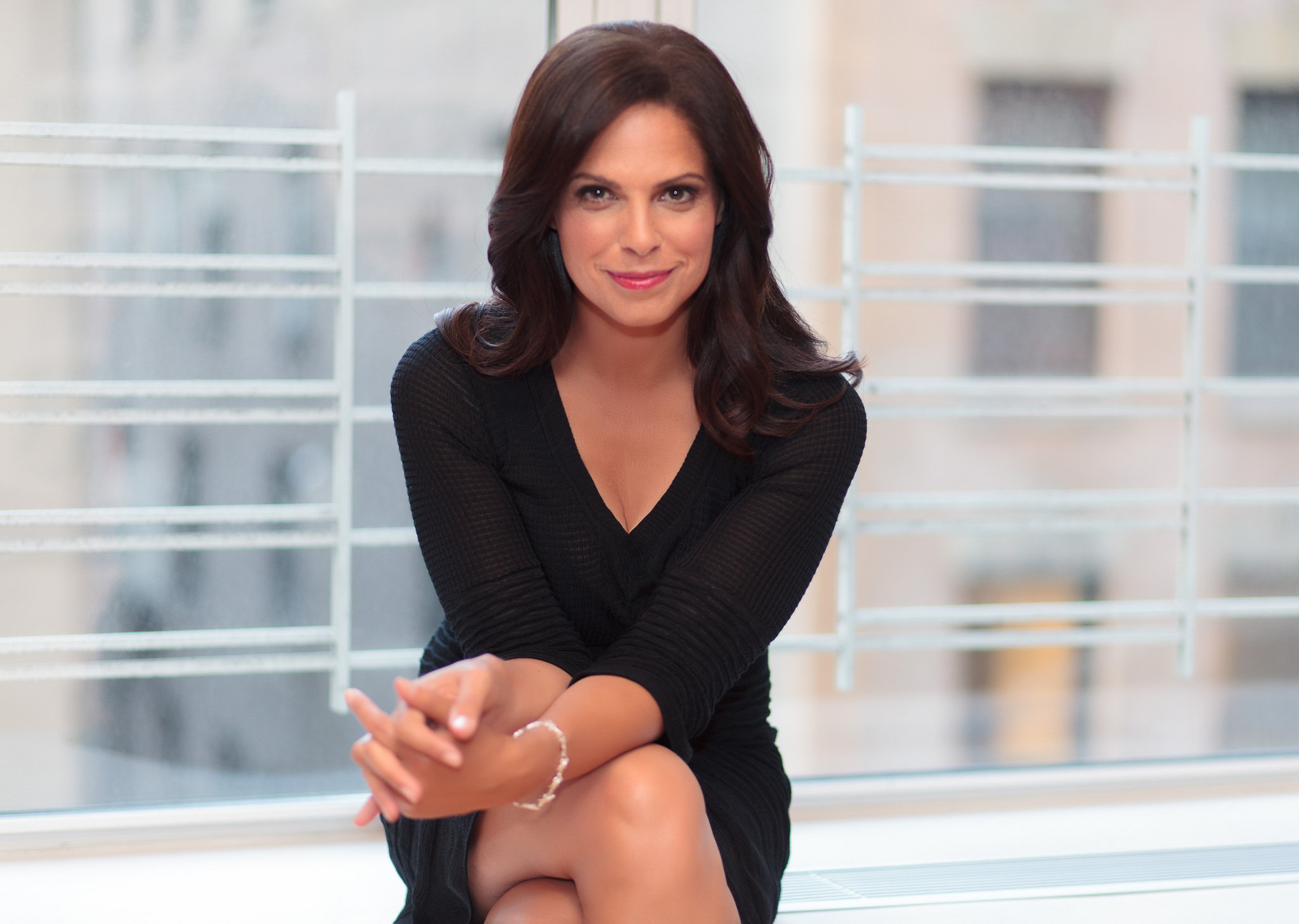 Soledad OBrien Helping young women become PowHERful in