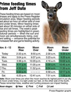Feeding times basics to get the most out of moon   influence on natural world al also rh