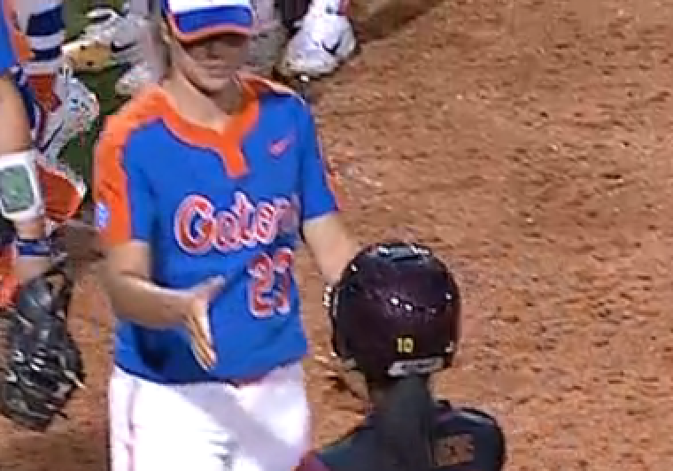 Florida softball changes postgame routine in wake of