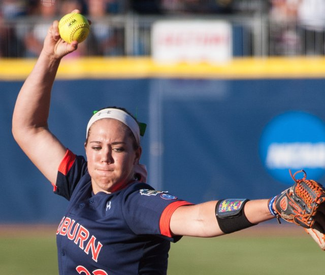 Auburns Lexi Davis Pitched Well Enough To Win Game  Of Wcws Championship Al Com