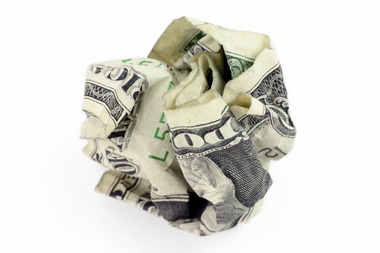 Crumpled dollar bill.jpeg.JPG