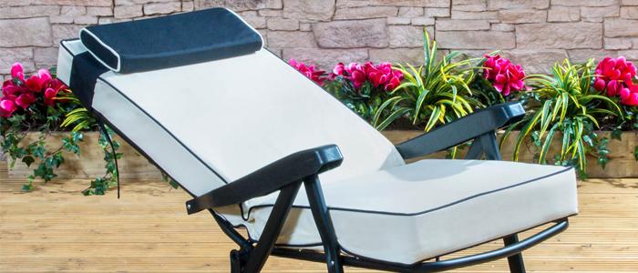 buy garden recliner cushions online