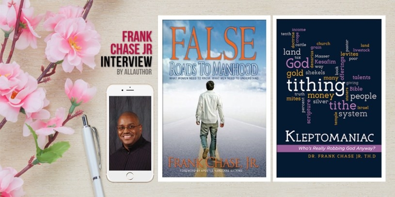 Frank Chase Jr latest interview by AllAuthor