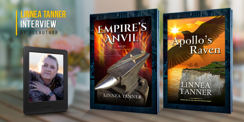 Linnea Tanner latest interview by AllAuthor