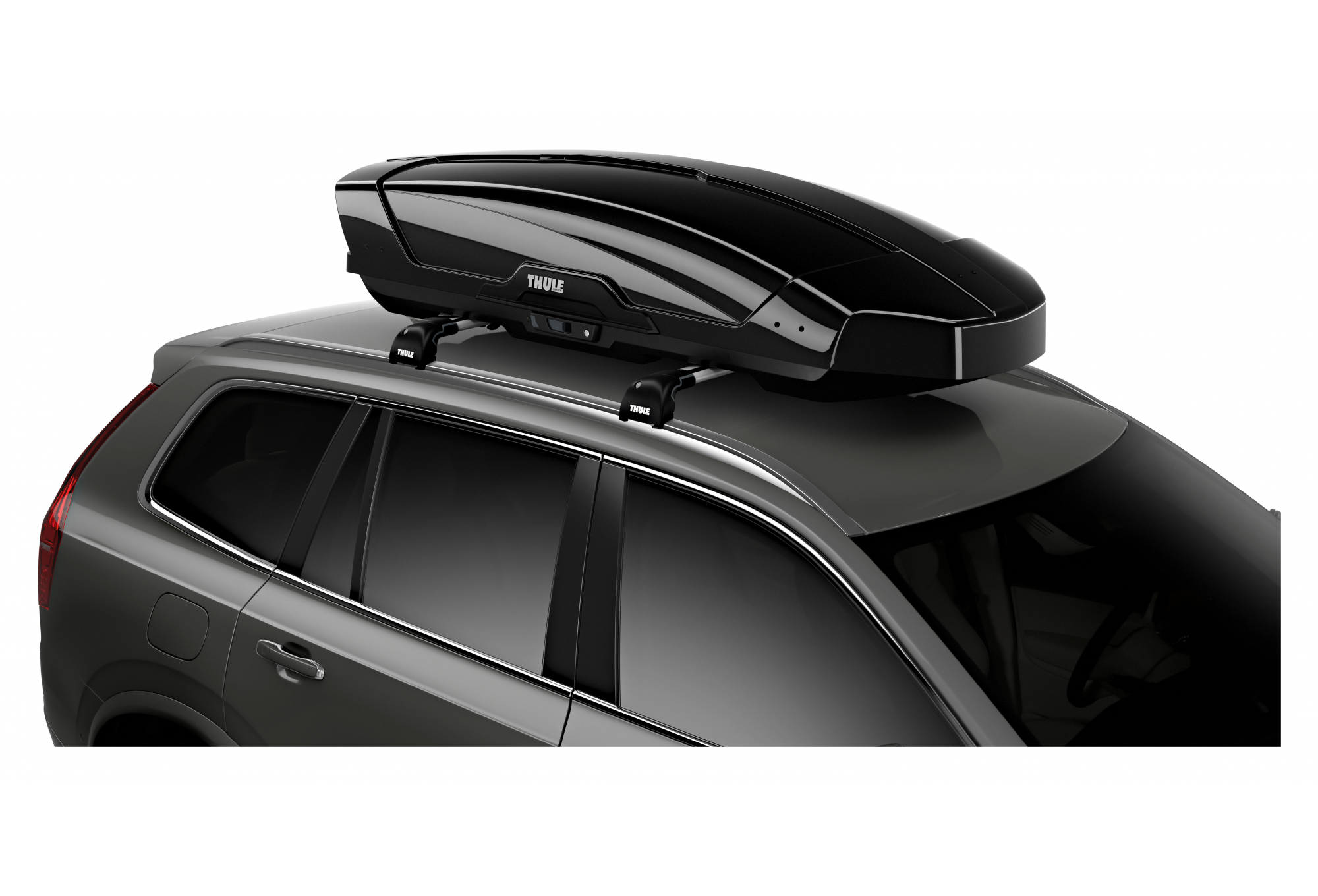 coffre de toit thule motion xt l 450 l noir brillant