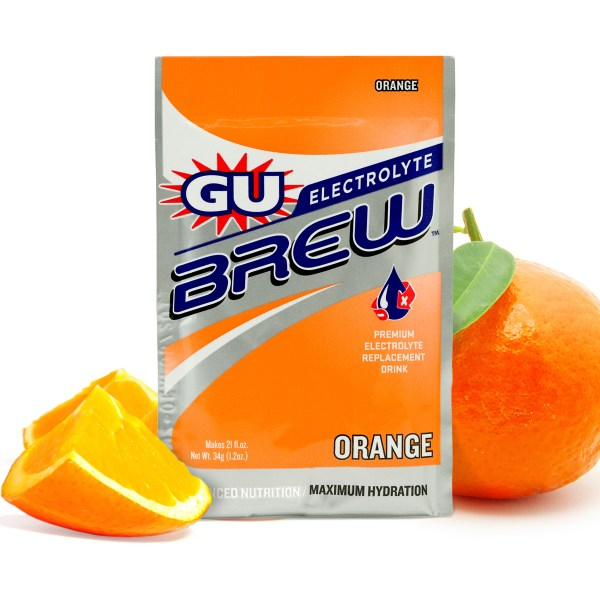 Gu Boisson Nergtique Brew Electrolyte 60gr T Orange