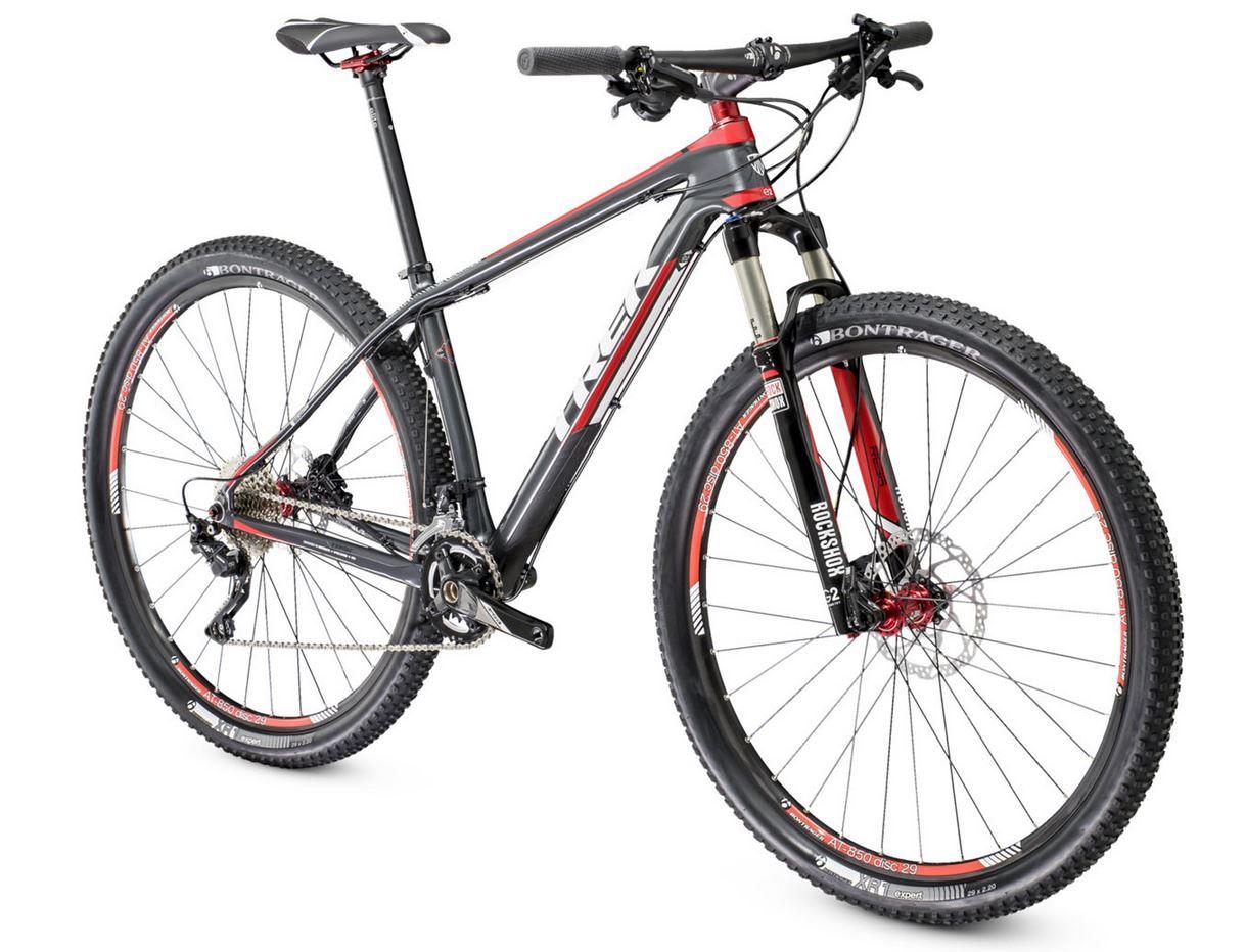 TREK 2014 Hardtail Bike SUPERFLY 9.6 29'' Black / Red