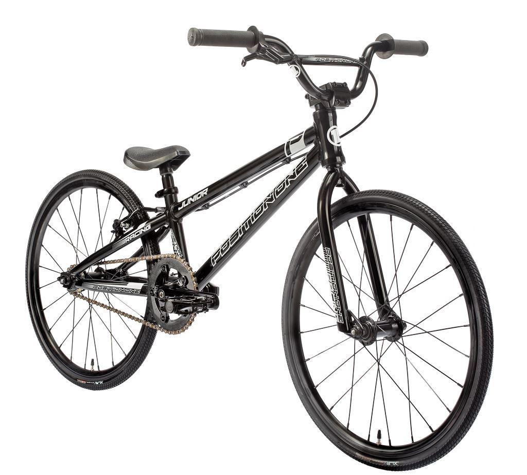 POSITION ONE BMX Complete Bike RACE JUNIOR Black